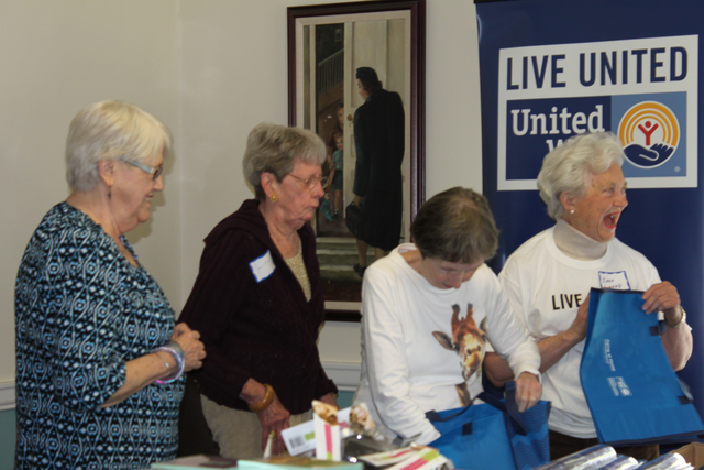 Depend Supports Day of Action Volunteers   United Way Worldwide